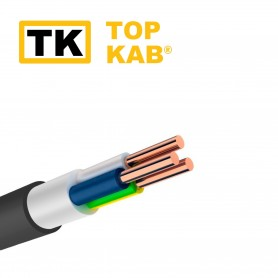 Cablu electric VVG ng-LS 2x2.5mm TopKab