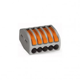 CONECTOR WAGO CONNECTOR-5 5P 0.8-2.5mm2 HOROZ 500 buc