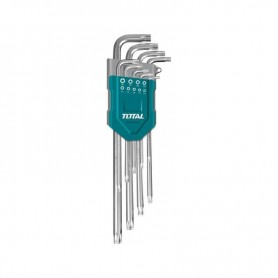 Set chei hexagonale Torx 9 buc.