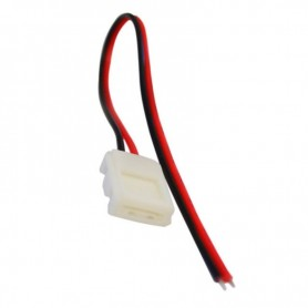 Conector SMD3528 8mm SINGLE END 15cm RGB ELMOS