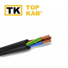 Cablu electric VVG ng  3x6.0mm TopKab