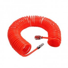 Furtun compresor 14MF 10x14mm 15m, PU orange