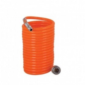 Furtun compresor 14MF 8x12mm 15m, PU orange