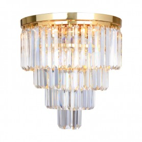 Lustra AMEDEO FC17106 5xE14 40W crystal glass chrome LuminaLED